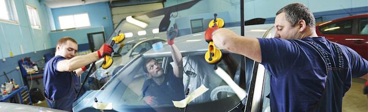 Réparation de pare-brise dans les garages du réseau Autofit