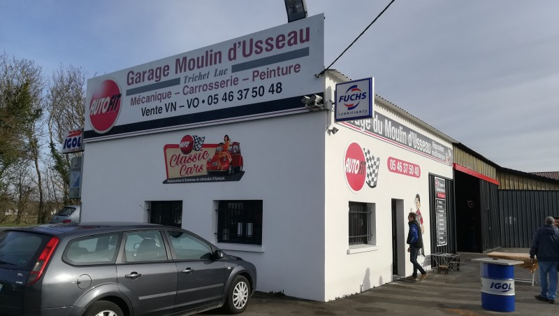 Garage du MOULIN D'USSEAU
